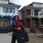Visit to Motown Museum following Detroit speaking event