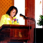 Serving as Emcee for African American Business Women of Vision event