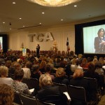 Sarita's keynote to 2300 people at Texas Counseling Association Conference