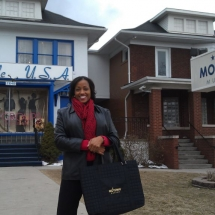 Sarita Maybin at the Motown Museum