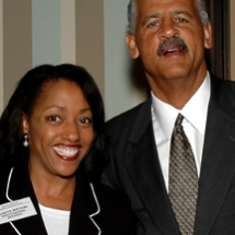 Sarita Maybin with Stedman