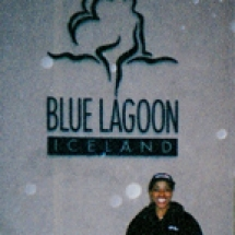 Sarita Maybin at Blue Lagoon